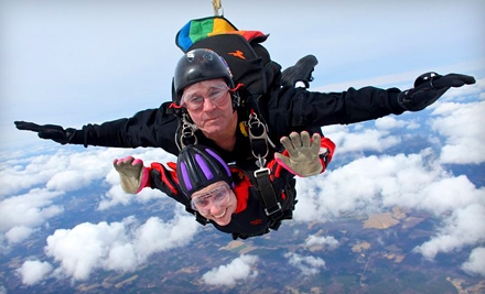 $155 for a Tandem Jump at Triangle Skydiving Center (Up to $235 Value)