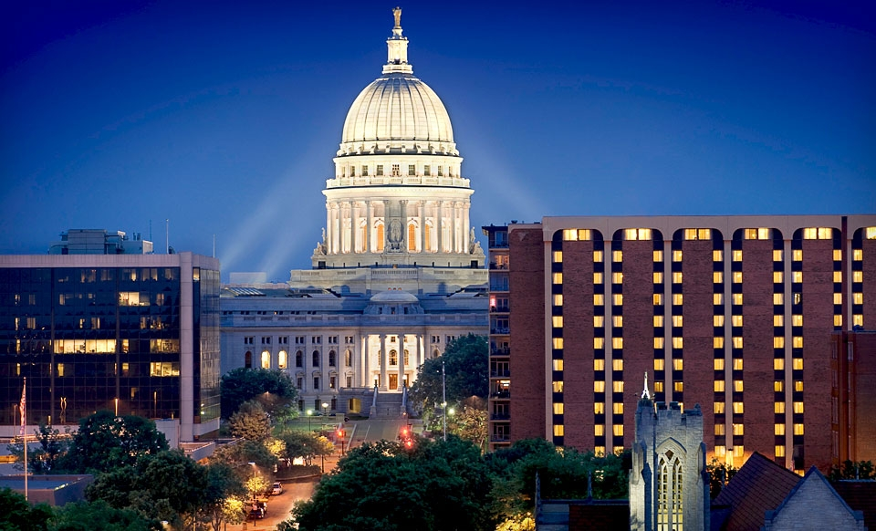 One- or Two-Night Stay for Two at The Madison Concourse Hotel and Governor's Club in Wisconsin