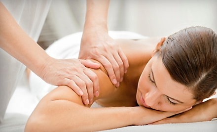 $49 for Spa Package with Massage, Foot Scrub, Foot Mask, Aromatherapy, and Hot Stones at Peace Through Massage (Up to $104 Value)