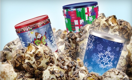 $50 For Two 6.5-Gallon Gourmet-Popcorn Canisters from Deanan Gourmet Popcorn ($108.25 Value)