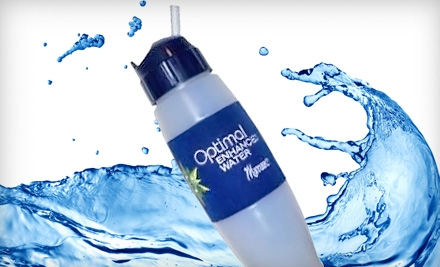 $19 for The Wellness Filter H2O Water Bottle from Pledge 5 Foundation ($54.50 Value)