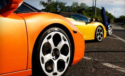 $99 for a High-Speed Drive in a Ferrari or Lamborghini from Gotham Dream Cars ($249 Value)