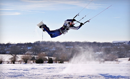One-Hour or Three-Hour Introductory Kiteboarding Lesson from Kite Force Academy (Up to 67% Off)