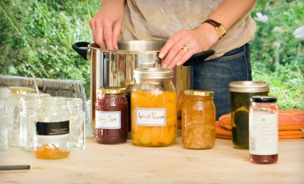 $20 for a Holiday Jams Canning and Preservation Class at Garden Inspirations in Waxahachie ($45 Value)