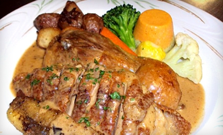 Four-Course French Dinner for Two Sunday–Thursday or Friday–Saturday at Gemmell's in Dana Point (Up to 52% Off)