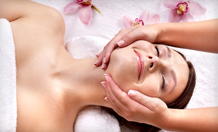$49 for a Cherry-Pomegranate Facial Package with Upper-Body Massage at Abella Massage & Skin Care Studio ($105 Value)