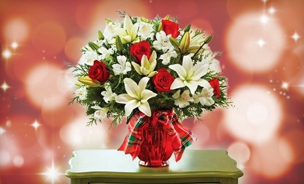 Floral Arrangements at PG Flowers (Half Off). Two Options Available.