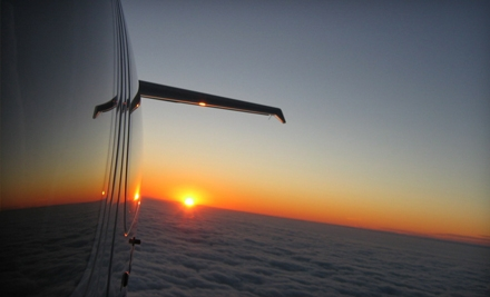$249 for a Romantic Sunset Flight for Two from Air Tours Texas ($699 Value)