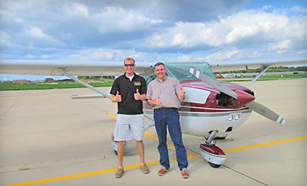 Private-Pilot Course for One or Two from Chicagoland Aviation (Half Off)
