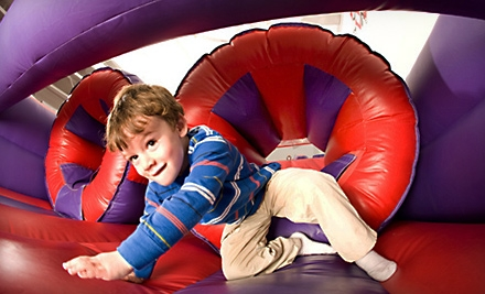 One Year of Unlimited Bounce Sessions or $50 for $150 Worth of Open-Bounce Sessions at BounceU in Apex (Up to 66% Off)