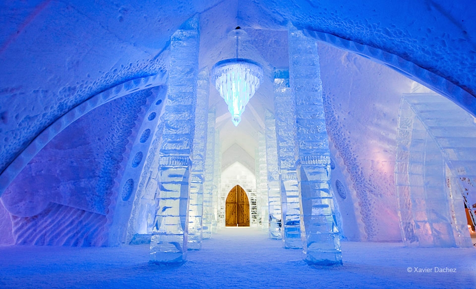 $329 CAN for a One-Night Stay for Two in a Standard Room at Hôtel de Glace in Quebec City (Up to $600 CAN Value)