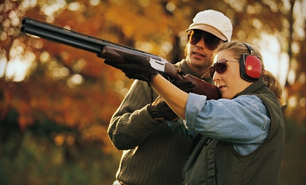 Sporting-Clays-Shooting Package for Two or Four on a Weekday or Weekend at Golden Gun Club in Watkins (Up to 60% Off)