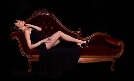 $65 for a One-Hour Boudoir Photo-Shoot Package with Prints at PDX Boudoir Portraits by Nina Sage ($249 Value)