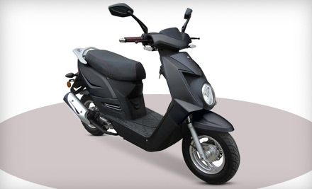 Chase 50 Scooter or Vinny 50 Scooter Including Shipping from Chironex Motorsports Inc. (40% Off)