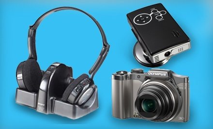 $25 for $50 Worth of Home Technology from The Sharper Image