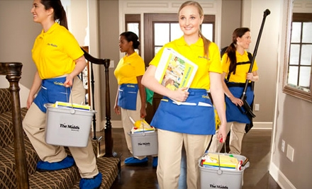 Housecleaning Services in Up to 15 Rooms from The Maids (Up to 57% Off). Two Options Available.