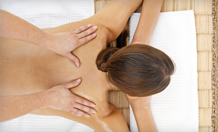 60-Minute Massage with or without Back-Cleansing Treatment at Custom Massage by Cana (Up to 52% Off)