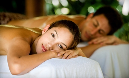 $75 for a Couples Spa Package with a Swedish Massage and Sauna Session at Plymouth Wellness Center & Spa ($160 Value)