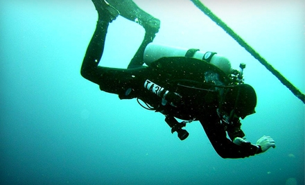 $180 for a Scuba-Certification Course at Scuba Ventures ($365 Value)