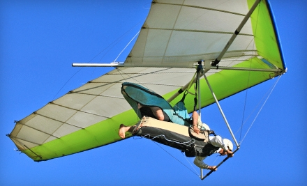 $69 for Southside Hang-Gliding Lesson, Tandem Hang-Gliding Flight, or Tandem Paragliding Flight at Birdman Academy ($140 Value)