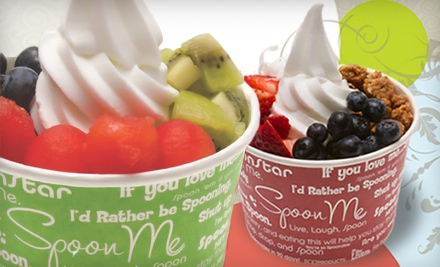$7 for $15 Worth of Frozen Yogurt, Salads, and Wraps at Spoon Me in Westlake