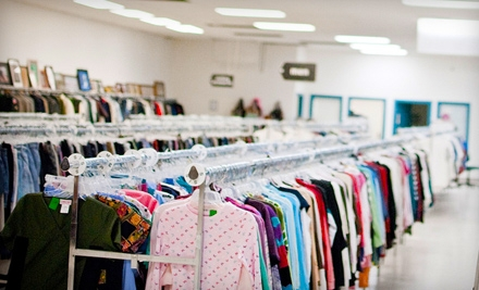 $8 for $16 Worth of Recycled Apparel, Furniture, Home Goods, and Electronics at Neighborhood Thrift