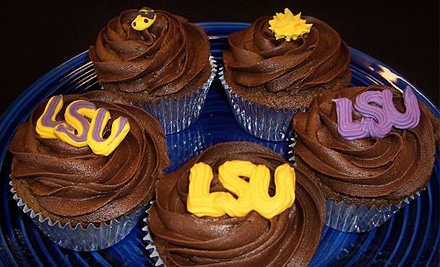 $14 for One-Dozen LSU-Themed Specialty Cupcakes at KC's Babycakes in Mandeville ($29 Value)
