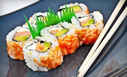 $12 for $25 Worth of Sushi and Hibachi Fare at Shogun Japanese Restaurant