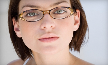 $50 for Eye Exam and $225 Worth of Eyeglasses at Gulfgate Vision ($374 Value)