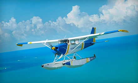 $75 for a 30-Minute Skyline Seaplane Tour from Miami Seaplane Tours in Key Biscayne ($150 Value)