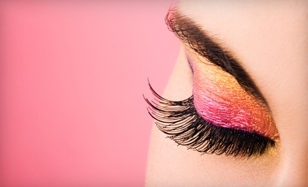 $49 for Eyelash Extensions at Locks and Lashes in Clermont (Up to $200 Value)