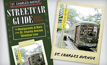 One or Two St. Charles Avenue Streetcar Guidebooks from Streetcar Guide New Orleans