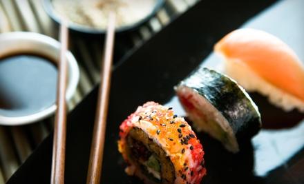 $15 for $30 Worth of Asian Fusion Fare at Wasabi Asian Fusion Sushi & Hibachi