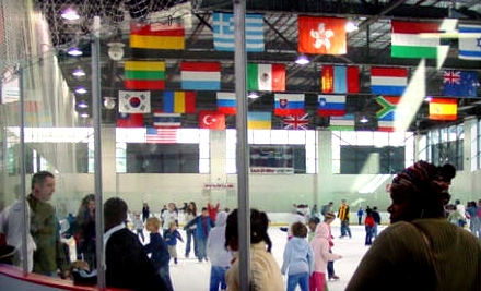 $4 for an Ice-Skating Outing with Skate Rental at Indiana/World Skating Academy (Up to $8 Value)