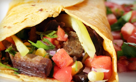 Southeastern Mexican Fare at Montecristo Mexican Grill (Half Off). Two Options Available.