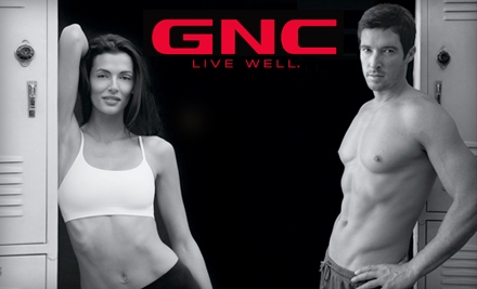 $19 for $40 Worth of Vitamins, Supplements, and Health Products at GNC