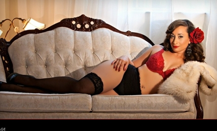 One-Hour Boudoir Photo-Shoot Package for One or Two at Sugar and Spice Boudoir Photography (68% Off)
