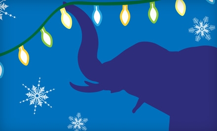 Two Adult or Two Child Entries to Zoo Lights at Fresno Chaffee Zoo (Up to Half Off)
