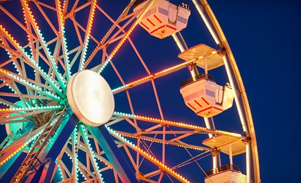 $30 for Suncoast Fair Entry with Unlimited Rides for Two in Sarasota (Up to $64 Value)