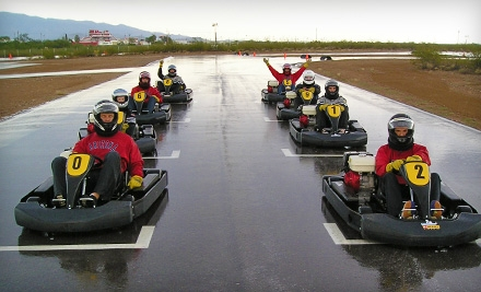 $30 for Three Kart Races with Protection Gear Provided at Musselman Honda Circuit (Up to $90 Value)