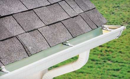 Gutter and Downspout Cleaning for a One-, Two-, or Three-Story Home from Lammes Roofing (Up to 72% Off)