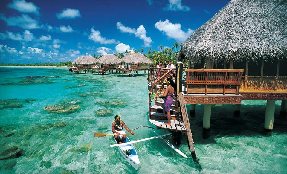 Four- or Seven-Night Stay for Two in an Overwater Bungalow at Manihi Pearl Beach Resort in French Polynesia