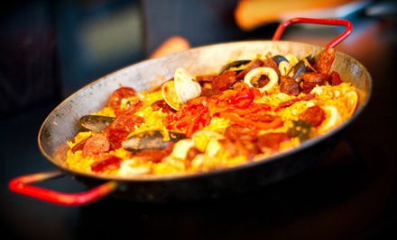 Spanish Cuisine and Drinks at Lunch or Catering at Bolero Tapas Bar & Spanish Grill (Half Off)