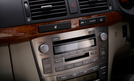 $60 for Car-Stereo Auxiliary-Jack Installation at Alarms Etc. ($127.99 Value)
