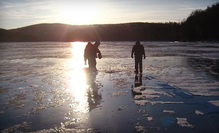 Ice-Fishing Excursion for Two from Charter the Berkshires Guided Ice Fishing Excursions in Great Barrington (Up to 75% Off)
