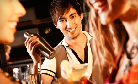 Bartending Course with Certification or Drink-Making Course at National Bartenders Bartending School (Up to 67% Off)