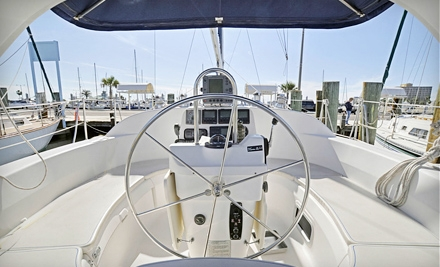 Sailing Class for Two or Captained Charter for Up to Six from Yachting Center of Corpus Christi (Up to Half Off)