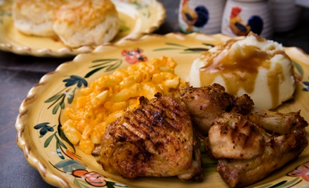 $10 for a Homestyle Dinner for Two at The Cottage Restaurant (Up to $20.58 Value)