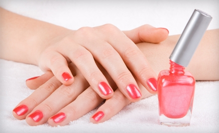 One, Two, or Three Shellac Manicures at Nails By Moonlight in Wind Lake (Up to 54% Off)