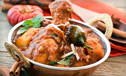 $20 for $40 Worth of Indian Fare at Royal Masala Restaurant and Bar